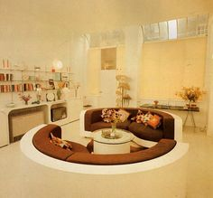 conversation pit from 1977