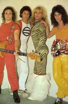 Van Halen-You just can't top David Lee Roth! David Lee Roth, Alex Van Halen, Eddie Van Halen, Sammy Hagar Van Halen, El Rock And Roll, Classic Rock And Roll, Party Radio, Moda 80s, Rock Music