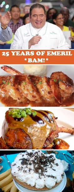 Thanks, GMA! --  Happy 25th Anniversary of opening your first restaurant, Emeril Lagasse! To celebrate, get some of his favorite recipes -- including New Orleans BBQ Shrimp, Double Cut Pork Chops and Banana Cream Pie - here: http://abcn.ws/1HVzht6