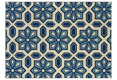 Moroccan Inspired Outdoor Rug