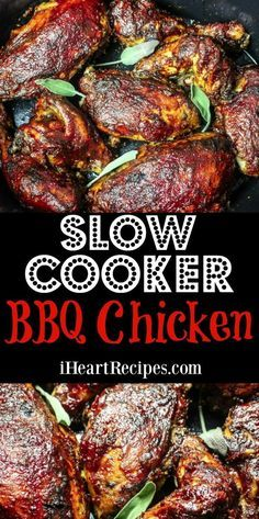 How to make BBQ chicken in the slow cooker! Perfectly seasoned with lot's of smokey flavor! Hey friends! I have another slow cooker recipe for you to enjoy! This time we are making BBQ chicken in the slow cooker. If you don't want to grill, or unable to- this is the perfect alternative! For this recipe I usually use a whole chicken, and cut it into eight pieces. However, you can use whatever pieces that you'd like to use! Check out my video tutorial! Slow Cooker BBQ Chicken How to...