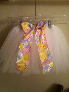 2T Easter White tutu by Amberstutucloset on Etsy, $23.00