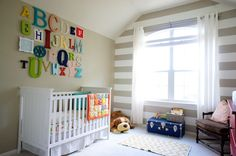 Not that I'm having a baby, but still really like the felt alphabet wall... OK? Stop looking at me like that.