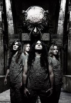 Kreator I will be seeing these guys in November! Heavy Metal Music, Heavy Metal Bands, Gothic Metal, Metal On Metal, Black Metal, Thrash Metal, Music Man Cave, Learn Guitar Chords, Metal News