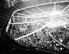Olympia Stadium - Old photos gallery Olympia Stadium, Tiger Stadium, Wayne State University, Joe Louis, Basketball Photos, Detroit Free Press, Detroit News, Political Events, Event Photos