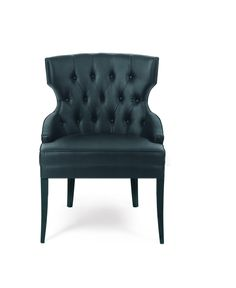 Dining Chair MAORI | Upholstery by BRABBU DESIGN FORCES, via Behance