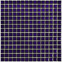 """Found it at Wayfair - Morgan .75"""" x .75"""" Porcelain Mosaic Floor and Wall Tile in Cobalt"""