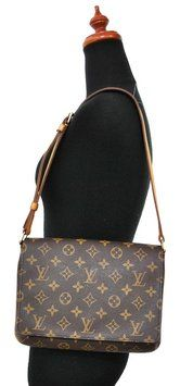 Louis Vuitton Musette Tango Shoulder Bag. Get one of the hottest styles of the season! The Louis Vuitton Musette Tango Shoulder Bag is a top 10 member favorite on Tradesy. Save on yours before they're sold out!