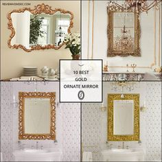 10 Best Gold Ornate Mirror Hall Mirrors, Entryway Mirror, Gold Ornate Mirror, Paper Crafts For Kids, Frames On Wall, Gallery Wall, Foyer Mirror