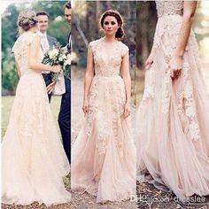 Encaje Vintage vestidos de novia de Cap manga Vestidos de Novia Personalizadas Talla 2 4 6 8 10 12 + + | Ropa, calzado y accesorios, Ropa de boda y formal, Vestidos de novia | eBay!