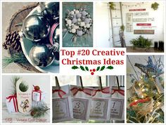 Decorating With Urns {Christmas Edition} - Fox Hollow Cottage
