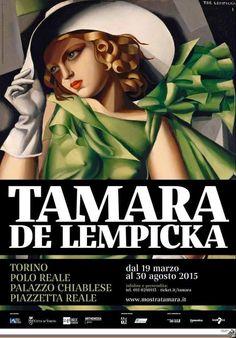Mostra dedicata a #Tamara de #Lempicka – dal 19 marzo a #Torino _ Palazzo Chiablese