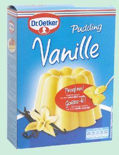 DR.OETKER pudding vanille poudre 4x53gr