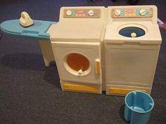 Little Tikes Vintage Washer Dryer Set   eBay