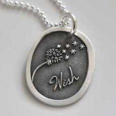 Wish Dandelion Necklace from Heart On your Wrist $58