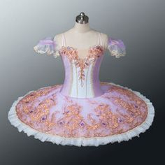 """New Collection 2015/2016. This professional tutu is created for many roles: it can be used by the corps de ballet in Act II of the Sleeping Beauty in the """"vision Scene"""". It can be use for Princess Aur"""
