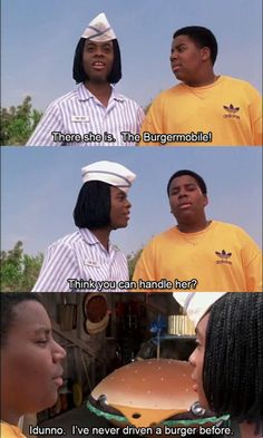 Good Burger Omg the is back ! 90s Movies, Funny Movies, Disney Movies, Movie Tv, Kenan E Kel, Welcome To Good Burger, Funny Movie Scenes, Freestyle Music, Super Funny Videos