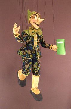 Large Pinocchio Marionette