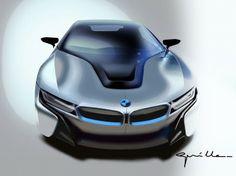 BMW i8: the design