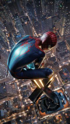 Spiderman Kunst, Spiderman Movie, Amazing Spiderman, Black Spiderman, Superhero Spiderman, Marvel Comics, Marvel Art, Marvel Heroes, Marvel Phone Wallpaper