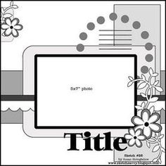 Check out the Scrapbook.com Sketch Gallery for more ideas and inspiration.