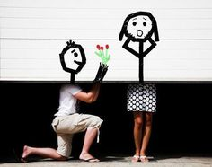 Such a great engagement shot…