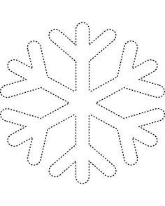 Snowflake Templates: Snowflake 1