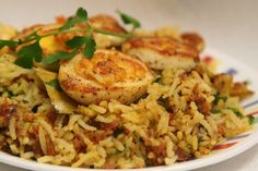 Delicious Egg #Biryani #Recipe: 4 cups rice 6 eggs 1/2 cup yogurt 2 finely sliced onions 6 chopped green chillies 1/2 bunch chopped mint leaves 1/2 bunch chopped coriander leaves 1 tsp red chilli powder 1/2 tsp…