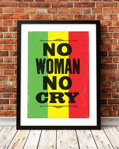 Bob Marley song lyric art Bob Marley art print by TheIndoorType