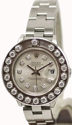- Item Number: LDSDJSDBSLVHPYOYS - Brand: Rolex - Model Number: 69160 - Series: Datejust - Gender: Ladies - Case Material: Stainless Steel - Case Diameter: 26mm - Dial Color/Diamond Quality: Silver co