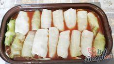 Zapékané holubky, které chutnají fantasticky. Pokud jednou vyzkoušíte, jiné dělat nebudete. | NejRecept.cz Hot Dog Buns, Hot Dogs, Mince Meat, Cucumber, Food To Make, Food And Drink, Cooking Recipes, Bread, Vegetables