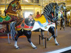 Huge Riverview PTC Carousel Horse | Flickr