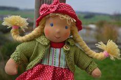 ❀✿❀ Roswitha Stoffpuppe ❀✿❀  von Hermis Puppenstube  - ♥ -  Puppenmachen ist Herzenssache - ♥ - Stoffpuppen zum Liebhaben gemacht ! auf DaWanda.com