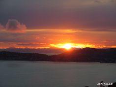 Coucher de soleil sur Saint Jean Cap Ferrat