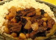 Algerian lamb el halu