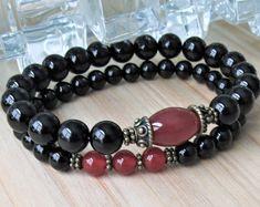 Jasper stack Yoga set of 3 mala bracelets Yoga bracelets Yoga Bracelet, Bracelet Set, Bracelet Making, Strand Bracelet, Jewelry Making, Teardrop Earrings, Dangle Earrings, Handmade Bracelets, Beaded Bracelets
