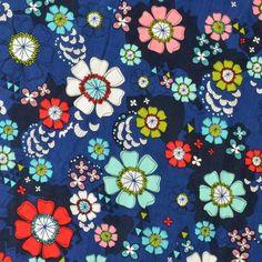 Stoff Blumen Gedruckt Stoffe Patchwork Baumwollstoff Ein Designerstück Von Trang1 Bei Dawanda