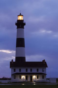 Bodie Lighthouse - Cape Hatteras National Seashore, North Carolina's Outer Banks