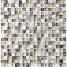 Brown Beige Tones Mixed Material Wall Tile $10.98 Lowes http://www.lowes.com/ProductDisplay?partNumber=269569-93840-20-594&langId=-1&storeId=10151&productId=3378600&catalogId=10051&cmRelshp=rel&rel=nofollow&cId=PDIO1