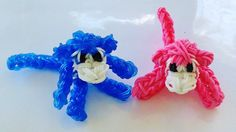 Rainbow Loom Charms | 3D Monkey : How to make with loom bands