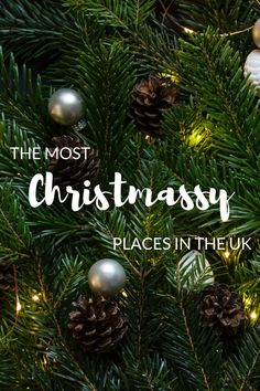 If you want to get well and truly into the festive spirit, then we know where you should go. These top Christmassy UK destinations are brimming with festive charm. Uk Destinations, Places Worth Visiting, Uk Holidays, Christmas Is Coming, About Uk, Festive, Spirit, Christmas Ornaments, Holiday Decor