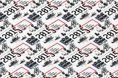 Calendar 2015 Design of PT Sarana Bandar Nasional on Behance