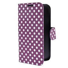Samsung Galaxy S5 i9600 Cases Cover-Dots Leather Case for Samsung Galaxy S5 i9600