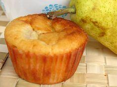 Apetyczne muffiny z gruszkami