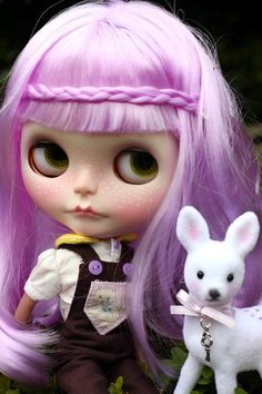 Blythe hairstyle