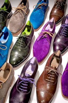barringtonorr: SHOE-PORN: TAKE NOTE GUYS ITS ALL JEWEL TONES THIS SPRING/SUMMER http://on.fb.me/ZcAvMJ