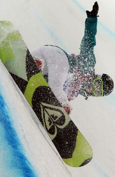 TORAH BRIGHT! 2014 Sochi Winter Olympic Games Silver medalist in the women's Snowboard Halfpipe! Roxy Snowboarding