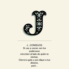 con la J... conseJos
