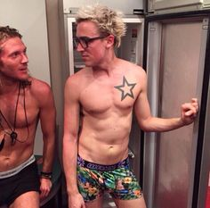 Dougie Poynter & Tom Fletcher
