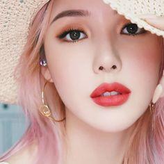 25 Trendy Makeup Korean Eyeliner Make Up 25 Trendiges Make-up Koreanisches Eyeliner-Make-up Korean Makeup Tips, Korean Makeup Look, Korean Makeup Tutorials, Asian Makeup, Korean Beauty, Pony Makeup, No Eyeliner Makeup, Korean Eyeliner, Korean Make Up